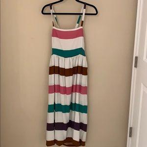 Anthropologie striped sun dress- NWOT